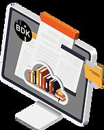 Digitales Dokumentenmanagement zum Verwalten von Dokumenten.