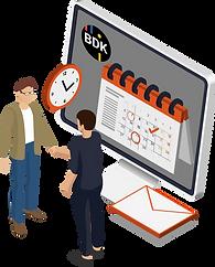 Kundenmanagement mit Folgeauftragserinnerung.