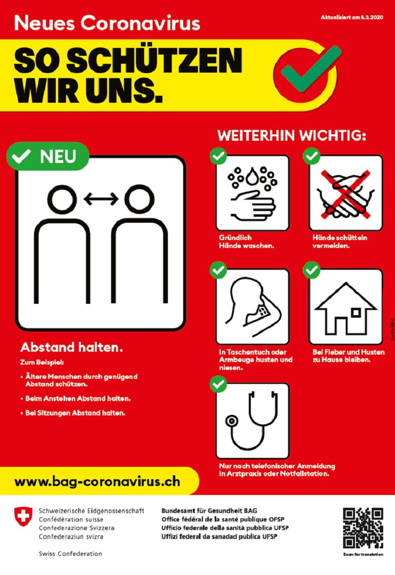 So schützen wir uns vor dem Coronavirus.