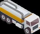 Lastwagen für Transporte in den Branchen Kanalreinigung und Umweltlogistik.