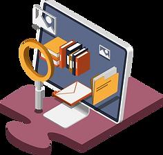 Digitales Dokumentenmanagementsystem zur Verwaltung von Dokumenten.