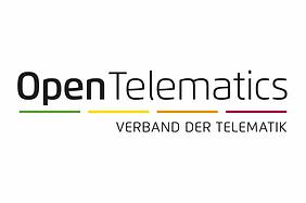 Logo von OpenTelematics, dem Verband der Telematik.