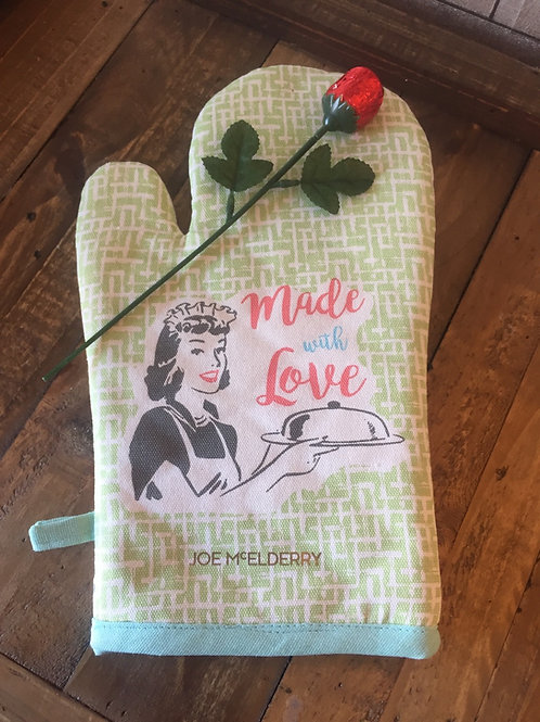 Cooking With Joe Oven Glove and Choccie Rose 🌹