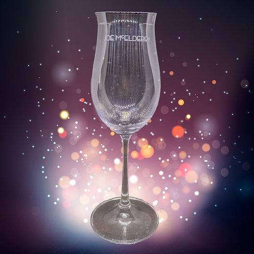 Joe McElderry Champagne Flute