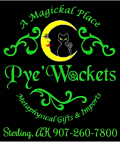 pyewackets logo Magical store in Alaska