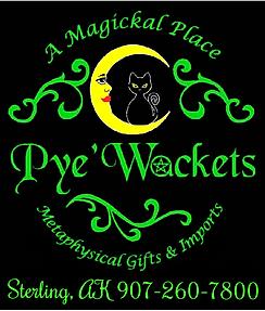 pyewackets logo Magical store in Alaska