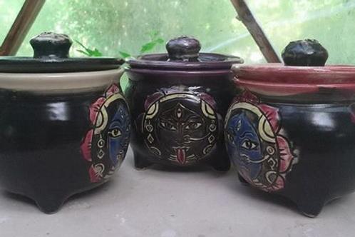 Kali Cauldron mug & Skull lid
