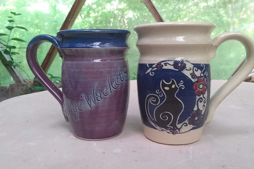 Custom PyeWackets Logo Mug