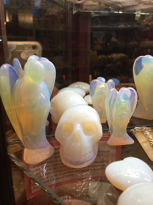Carved Opalite