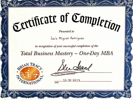 MBA - Total Business Mastery