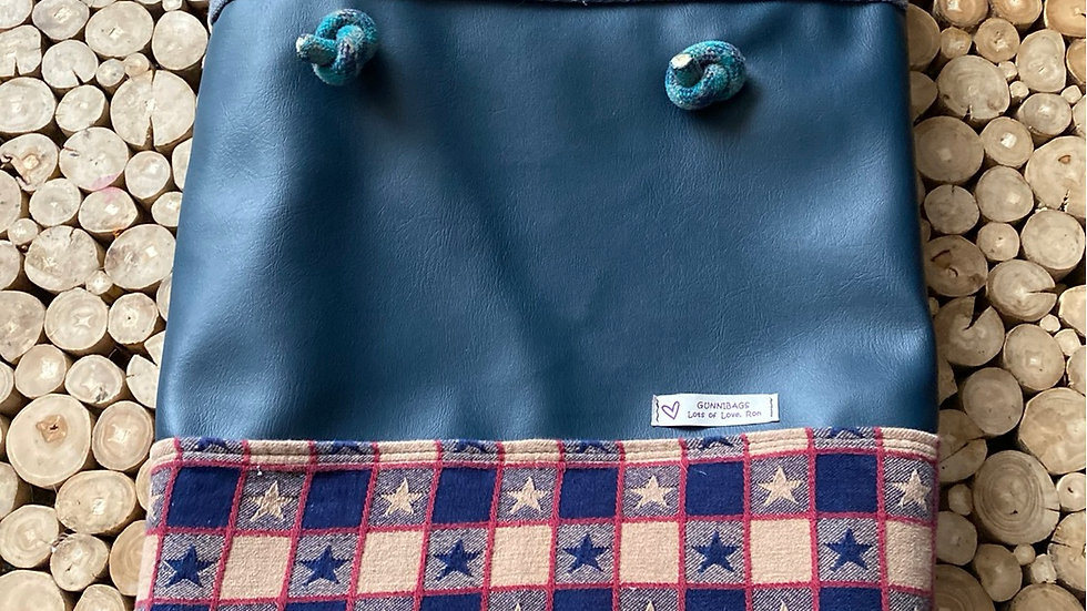 Blue with stars