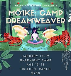 Mo ʻIke Camp Dreamweaver
