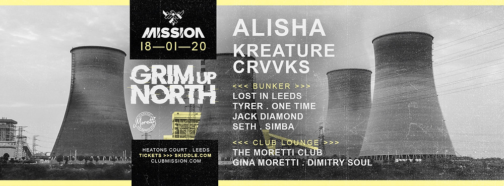 Mission, Leeds. January 18th 2020