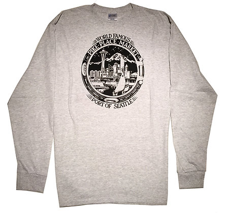 Straight Cut Skyline Longsleeve Tee