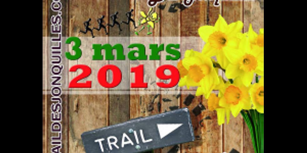 Trail des Jonquilles à Athis 3 Mars