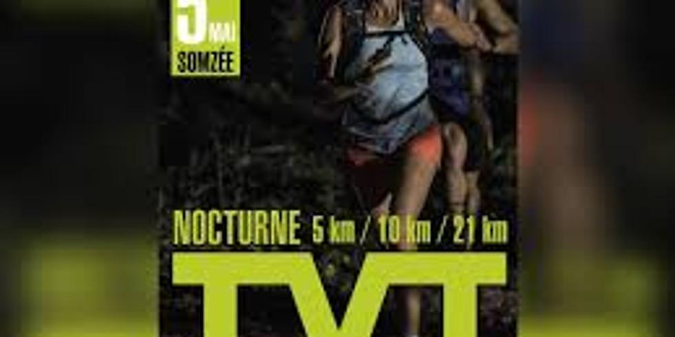 Trail Nocturne de La vallée de La Thyria