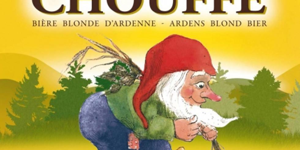 Balade Houffalize 28 Juillet de la valle de l'Ourthe à la brasserie Chouffe!