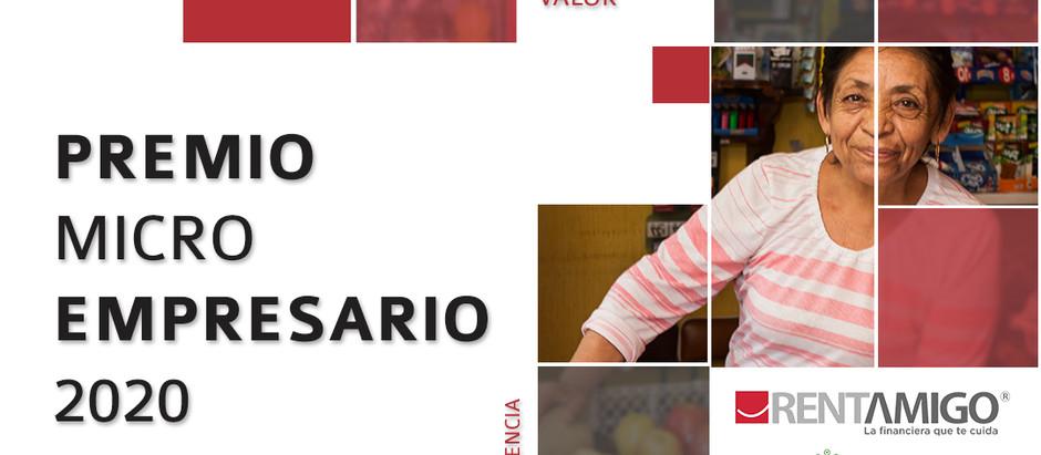 Premio Micro Empresario Resiliente 2020