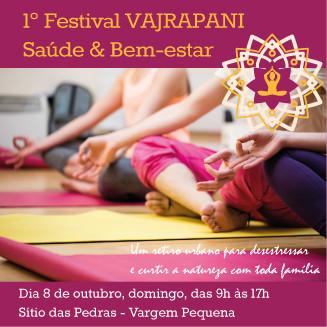 1º Festival Vajrapani Saúde e Bem-estar