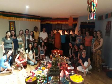 Confraternização 2017 - Tsok e Meditação