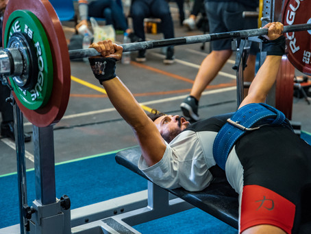 Top 5 mistakes in the bench press
