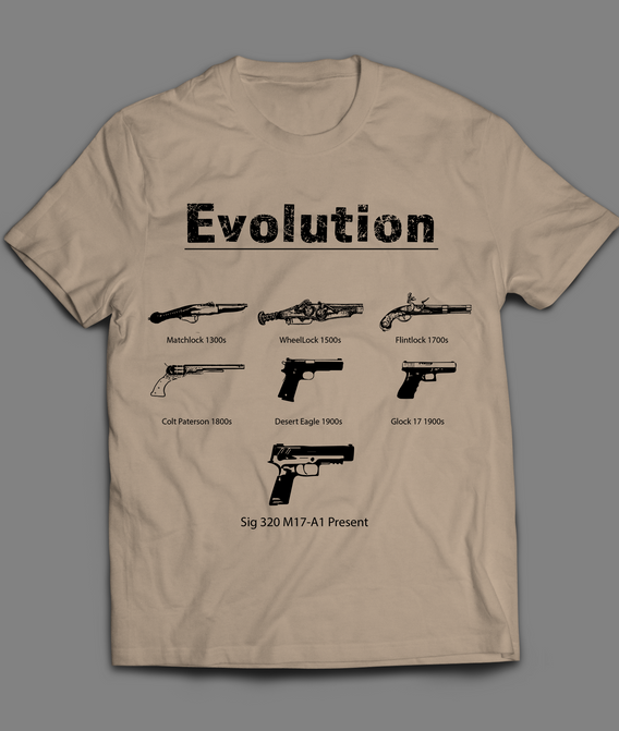 Evolution of the pistiol