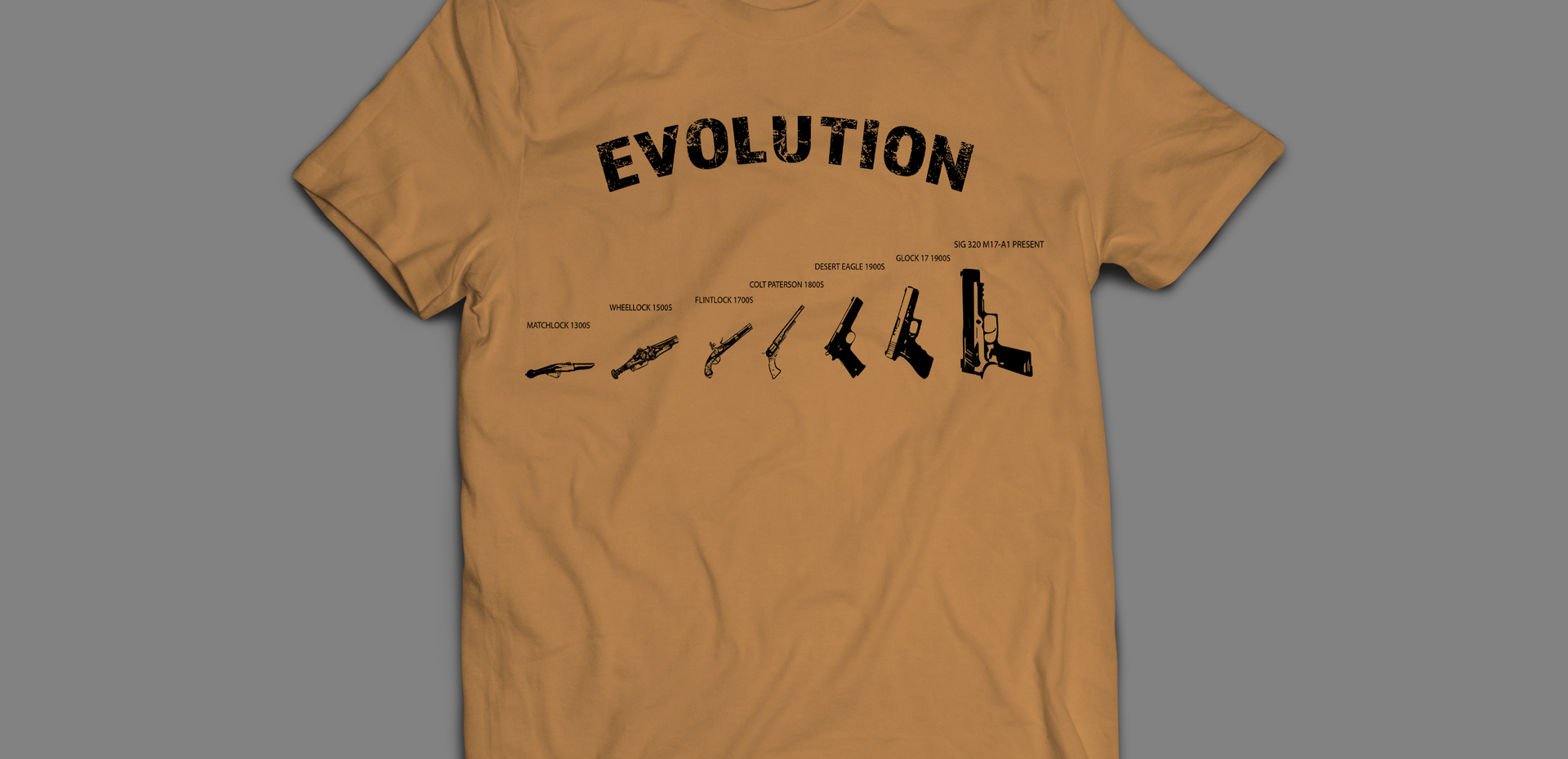 Evolution of the pistol 2
