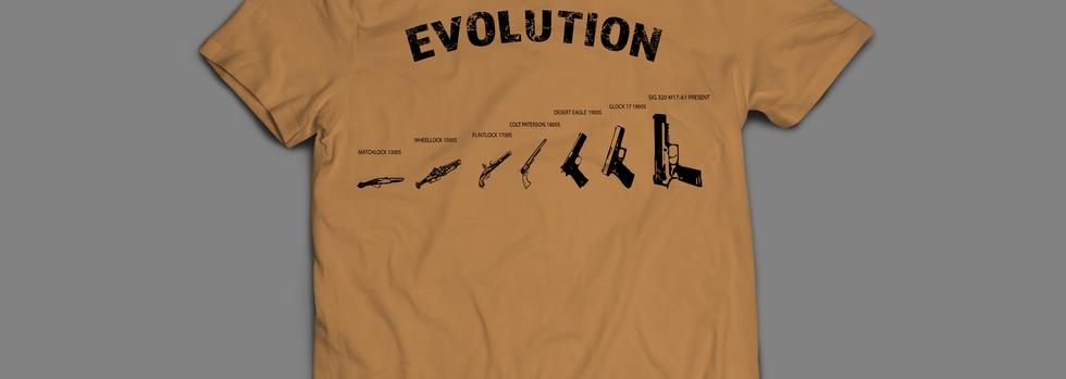 Evolution of the pistol 2