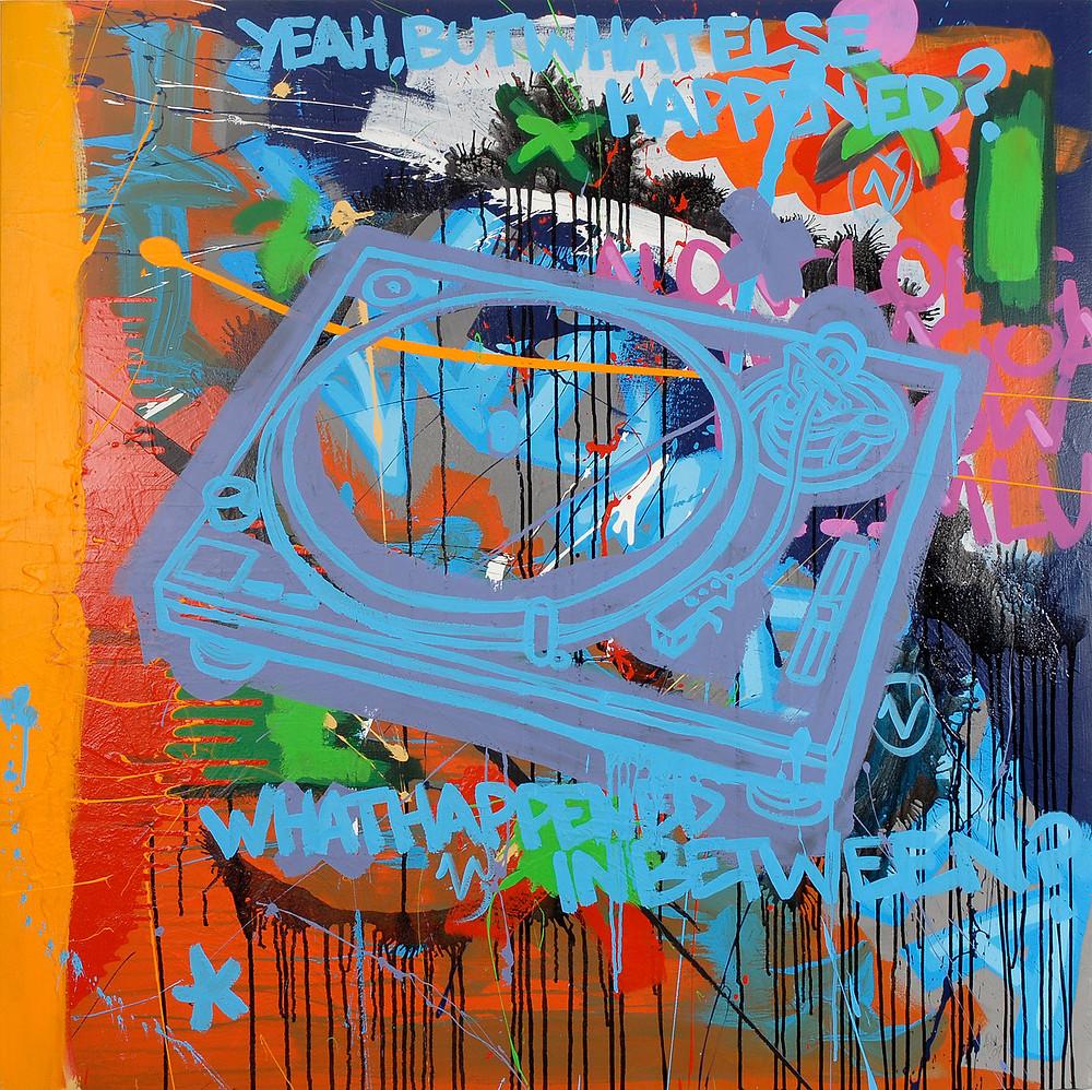 Adventures: What Happened in Between/ by Ashwan art graffiti street art