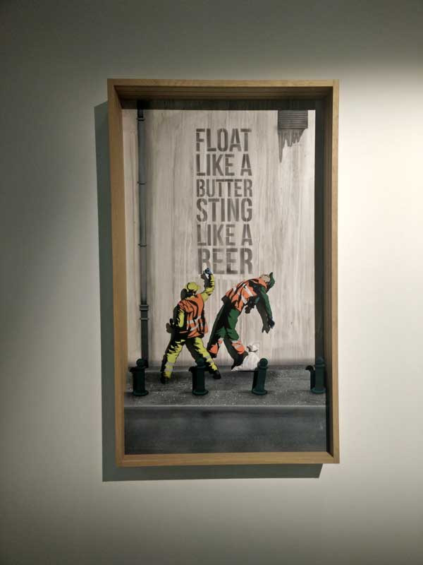 Float like a Butter, Sting like a Beer - Jaune Vroom &Varossieau Gallery