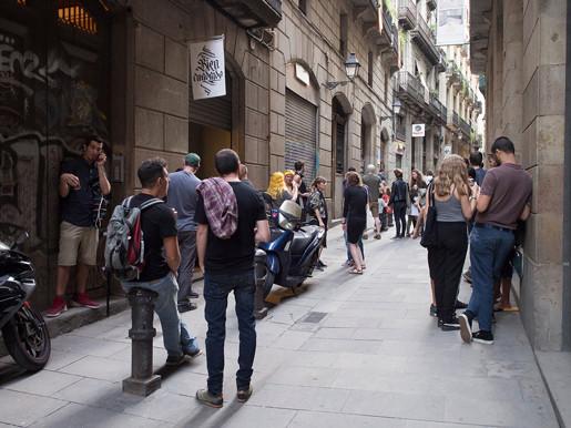 Opening Night Bien Cuadrado Barcelona