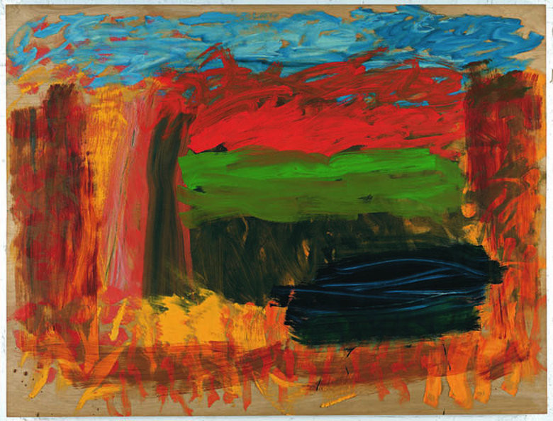 Home, Home on the Range by Howard Hodgkin fine art abstract contemporary