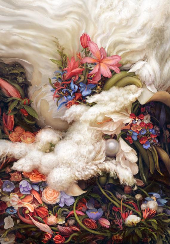 Flowers and Pearls - Kristin Sagli