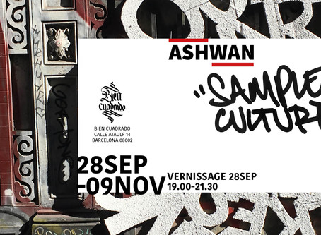 Ashwan - Sample Culture, Sept 2019