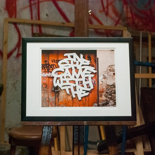 Street Art Photography Framed