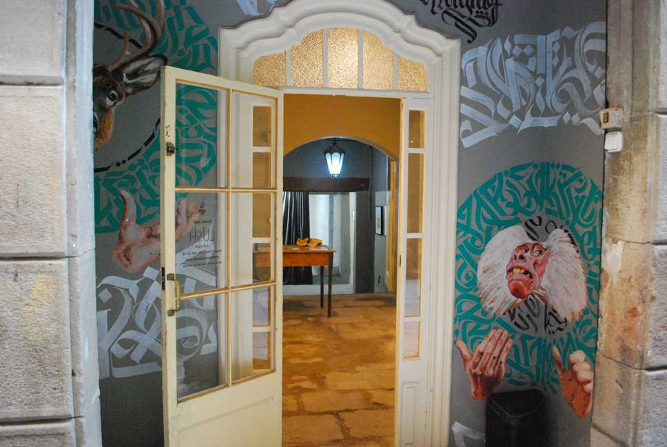 Rubicon and Mugraff design entrance