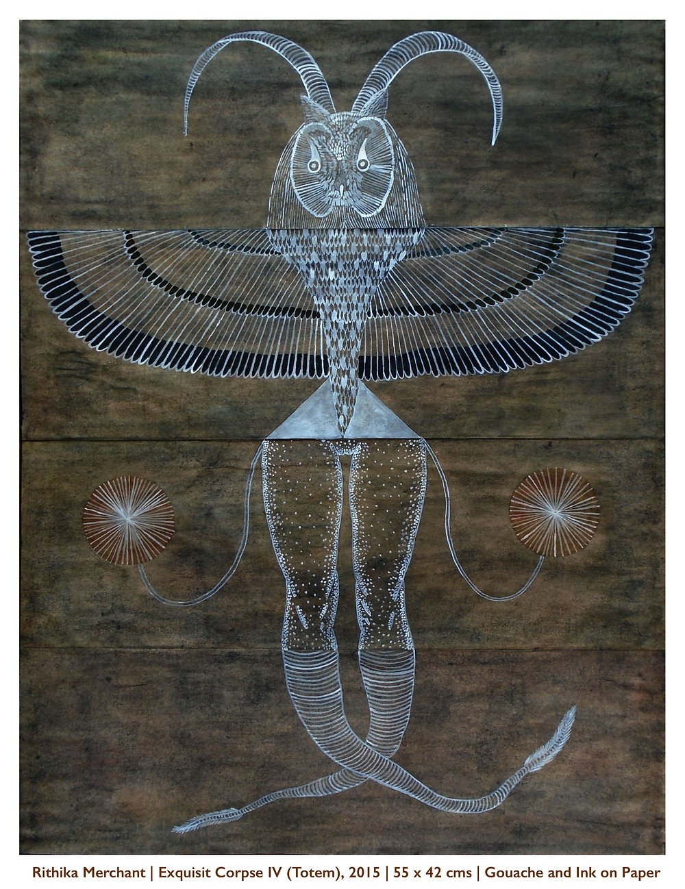 Exquisite Corpse IV (Totem) - Rithika Merchant