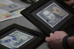 C215 Bank Note Series Framed