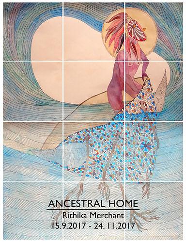 Rithika Merchant Barcelona art exhibition poster