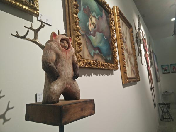 Peca Art and Miss Van Fousion Gallery space in Urbanity