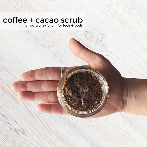 Coffee & Cacao Sugar Scrub