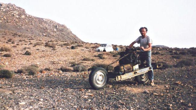 Emile Leray, desierto de Marruecos, 1993
