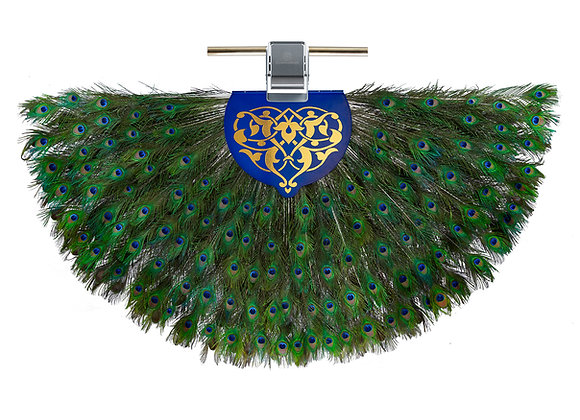 THE SOLITAIRE PUNKAH - THE PEACOCK