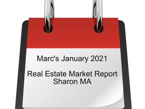 January 2021 Sharon Real Estate Market Update