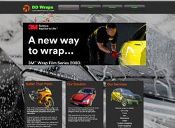 DD Wraps Home Website Design
