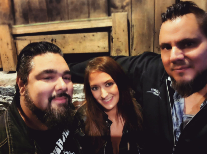 Brandy with Ken Valdez & Joe Diaz