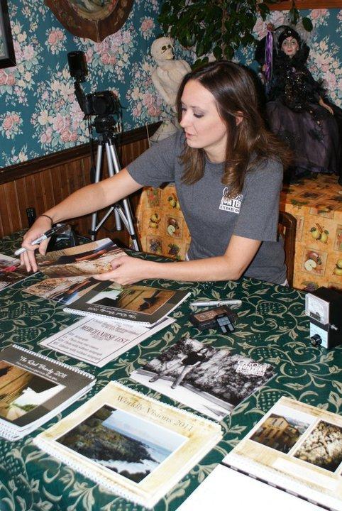 Signing at the Catfish Plantation in Wax
