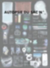 Création d'un livre d'art sur le thème : autopsie du sac, édition, mise en page, photographie, conception/redaction