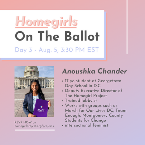 Voting Rights Legislation with Anoushka Chander