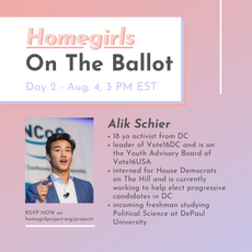 Youth Advocacy with Alik Schier